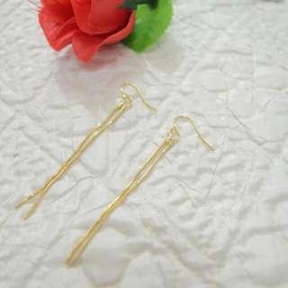 Threaded Chain Fashion Earring