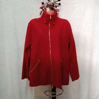 Plus Size Red Jacket