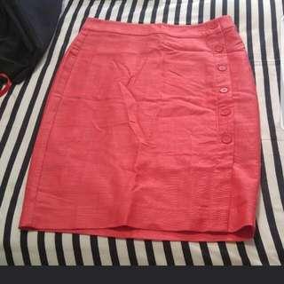 LOFT brand skirt - Light orange colour