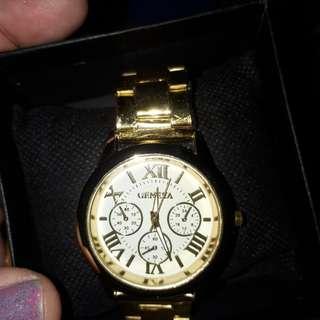 Geneva watch in box