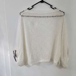 Hollow sweater