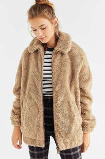 ISO ::teddy bear coat sz small (I'm in search of this )