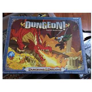"Dungeons and Dragons ""Dungeon"" Fantasy Board Game"