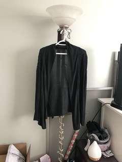 Grey cardigan - medium
