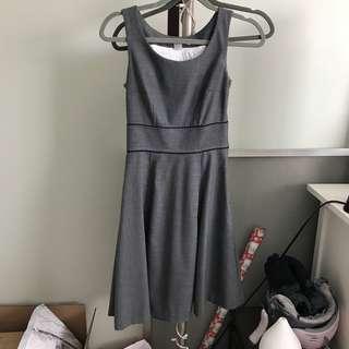 H&M grey dress - size 2