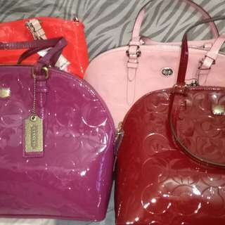 Authentic Coach Bags! Get any 2 for 5500!