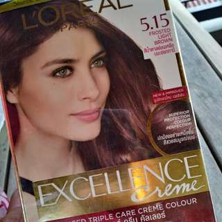 L'oreal 5.15 Frosted Light Brown Excellence Creme