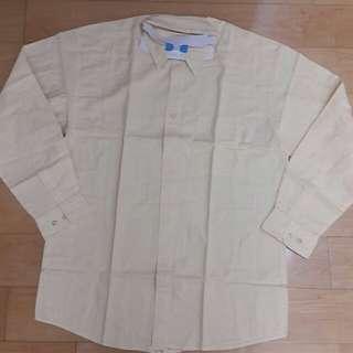 CUTTER& BUCK 長袖直條紋襯衫 休閒 口袋 百貨專櫃大尺碼