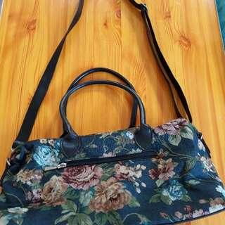Floral sling/hand bag