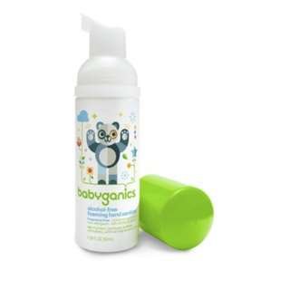 Babyganics Alcohol-Free Foaming Hand Sanitizer, Fragrance Free, 50ml