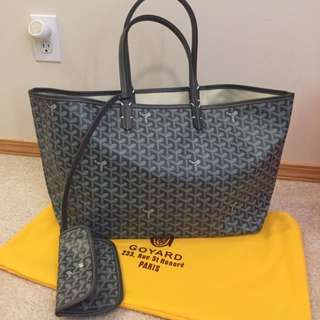 Grey Goyard Saint Louis GM Bag