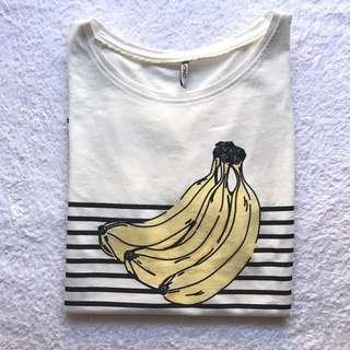 Banana Print Top