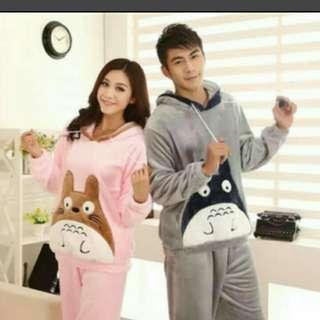Two pieces of Totoro pyjamas
