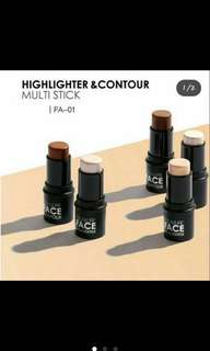 Focallure highlighter & contour