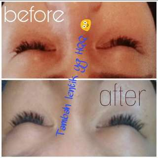 Testi eyelash extension lashes korea