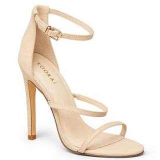 Kookai Aleisha nude heels 37