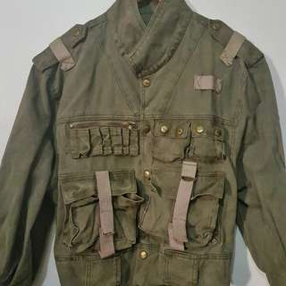 Army green EDC jacket