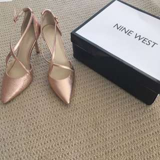 Size 8 Rose Gold Shoes
