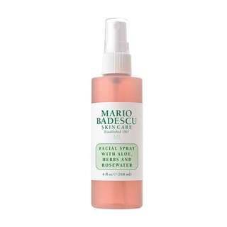 Mario Badescu Facial Spray with Aloe, Herbs and Rose Water (118ml) - Imported from USA