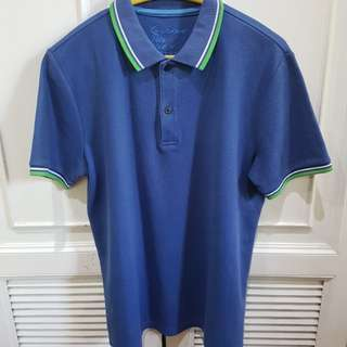 Giordano Blue Polo Shirt