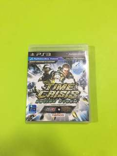 Time Crisis Razing Storm PS3 Games