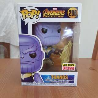 Avengers Infinity War: Thanos w energy pop vinyl