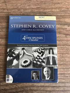 Stephen R. Covey - The 4 Disciplines of Execution (Audio CD)