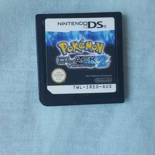 Pokemon Black 2 cartridge