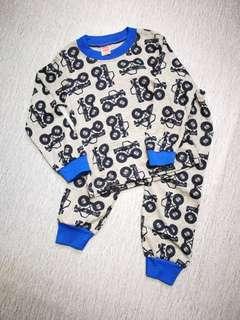 Baby Pajamas - Tractor