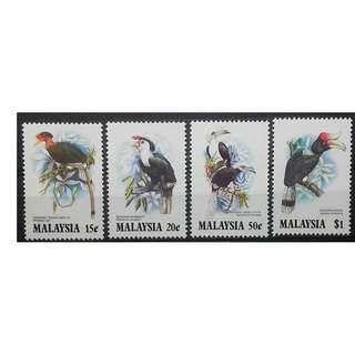 Malaysia 1983 Birds SG 280-283 MNH FRESH