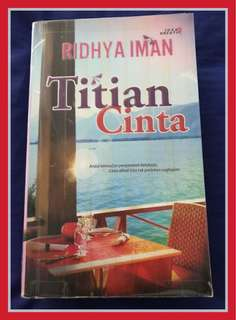Novel Titian Cinta (Preloved)