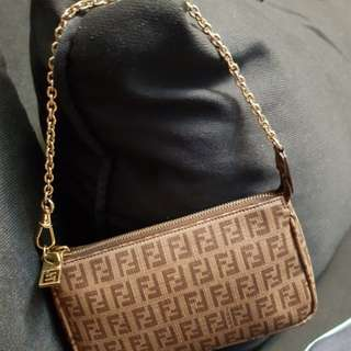 Elegant Pochette Bag by FENDI