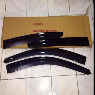 Honda accord window visor honda access