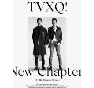 TVXQ 8th Album - New Chapter ( Pre Order)