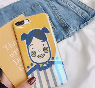 Plastic phone case