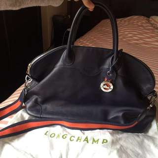 Longchamp leather bag 皮袋