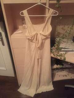 Vintage tie-back dress