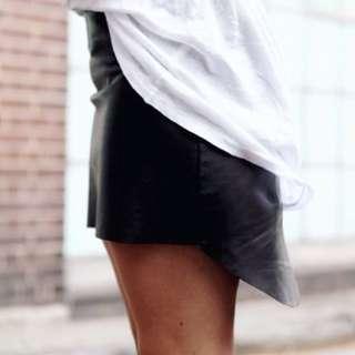 Eska Alikai leather skirt