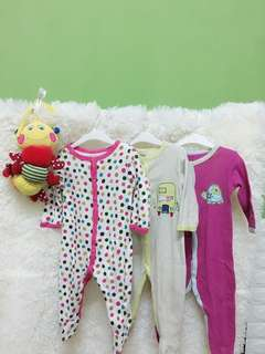 Sleepsuit Baby 3pcs