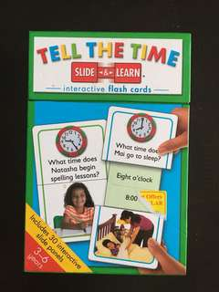 Flashcards: TELL THE TIME