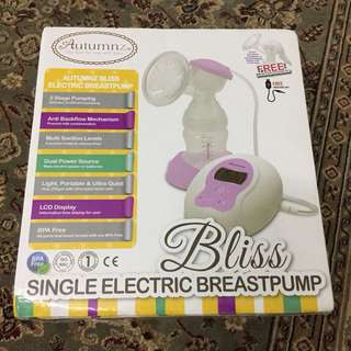 Autumnz Bliss Electric Breastpump #Baby30