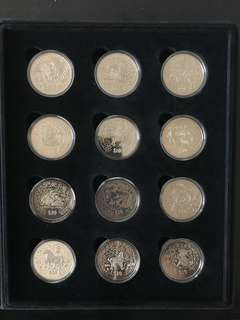 1993-2004 Zodiac Coins (FULL SET)
