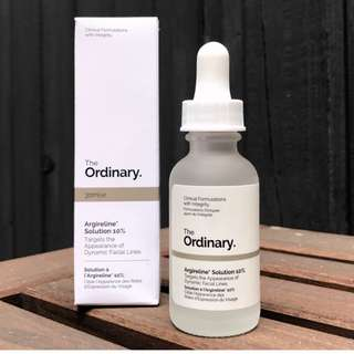 THE ORDINARY. Argireline Solution 10%