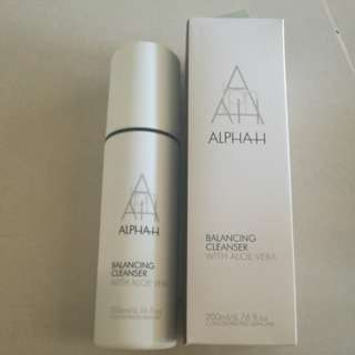 New Alpha-H Aloe Balancing Cleanser