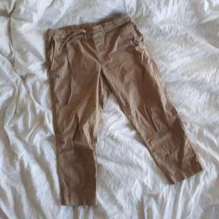 Muji Khaki Chino Pants