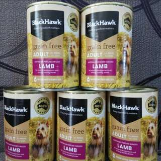 BLACK HAWK LAMB (GRAIN FREE) FOR ADULT DOGS 400g