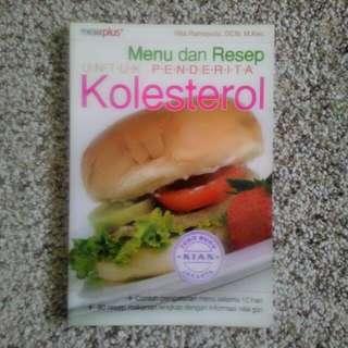 Buku Menu dan Resep untuk Penderita Kolesterol