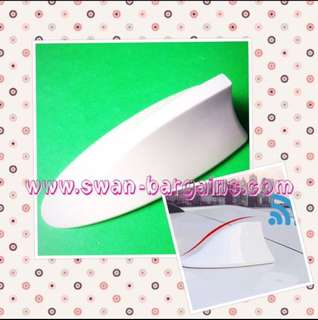 Good Quality Pearl White BMW-style Design Shark Fin Fully Functional Radio Aerial Receiver Antenna Enclosure