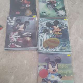 Mickey Mouse clear folder of file
