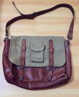 Parson Gray Messenger Bag like Filson